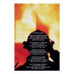A Fireman's Prayer Print