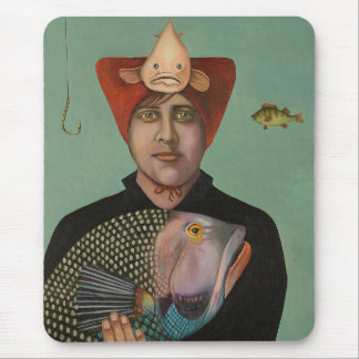 A Fish Story Mouse Pad