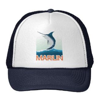 A fishing gift from sea: Shiny marlin Cap