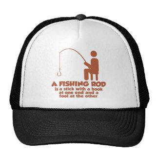 A Fishing Rod Cap