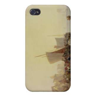 A Fishmarket Near Boulogne, c.1824 (oil on canvas) iPhone 4 Cover