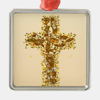 A fishy Cross. Christmas Ornament