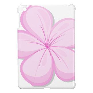 A five-petal pink flower iPad mini cover