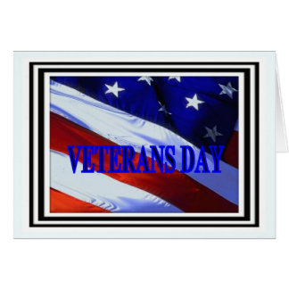 A Flag for our Veterans Card
