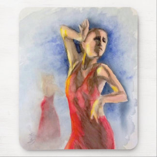 A FLAMENCO DANCER  2 MOUSE PAD