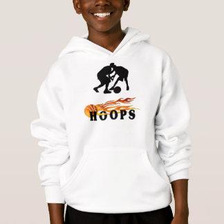 A Flaming Basketball Hoops