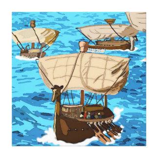 A Fleet  Of  Ships  Of  Tarshish Canvas Prints