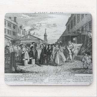 A Fleet Wedding, 1747 Mouse Pad