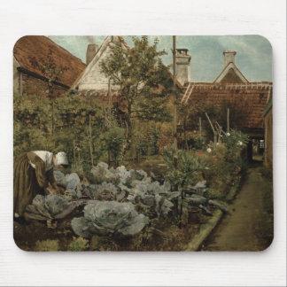 A Flemish Garden Mouse Mat