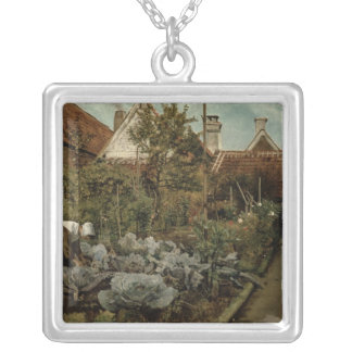 A Flemish Garden Silver Plated Necklace