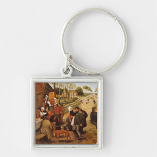 A Flemish Kermesse Key Ring