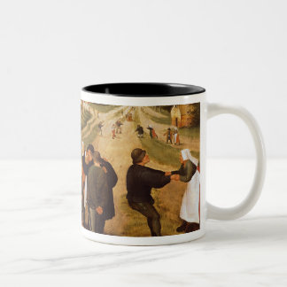 A Flemish Kermesse Two-Tone Coffee Mug