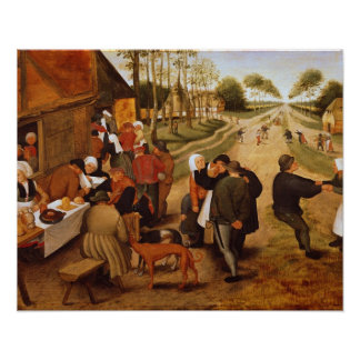 A Flemish Kermesse Poster