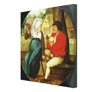 A Flemish Proverb Canvas Print