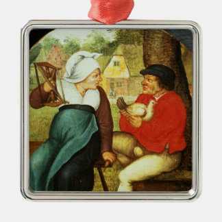 A Flemish Proverb Christmas Ornament