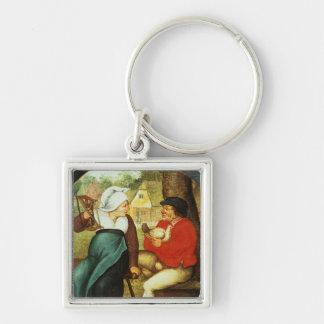 A Flemish Proverb Key Ring