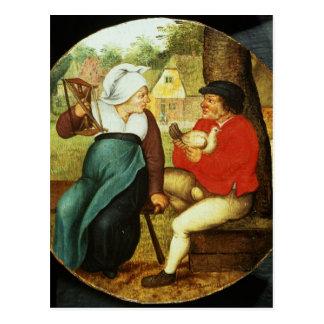 A Flemish Proverb Postcard