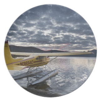 A floatplane in scenic Takahula Lake 2 Plate