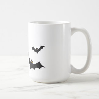 A flock of bats mug