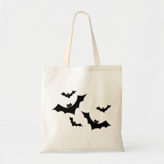 A flock of bats tote bag