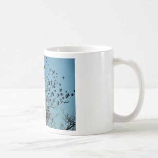 a Flock of birds Coffee Mugs