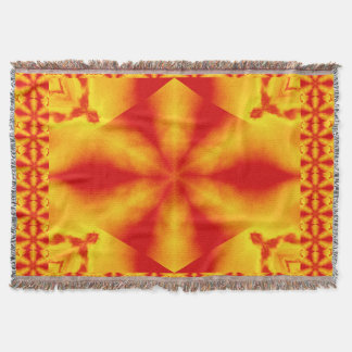 A Flower 6 Throw Blanket