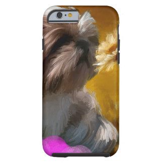 a flower tough iPhone 6 case
