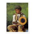 A Flower for the Teacher by Winslow Homer Postcard