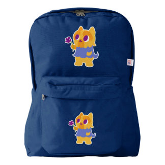 """""""A Flower For You"""" Short-haired Kawaii Yorkie Backpack"""