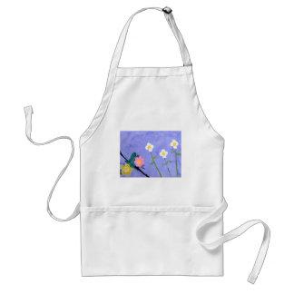 A flower garden apron