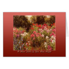 A Flower Garden by Louis Aston Knight Card