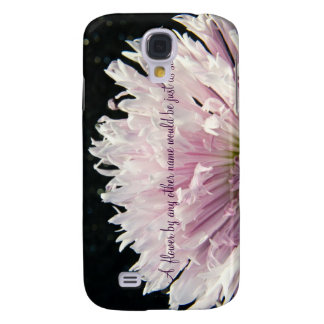 A Flower iPhone 3GS Case Galaxy S4 Case