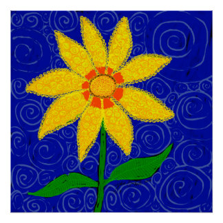 A Flower Like No Other by Julie Everhart Poster