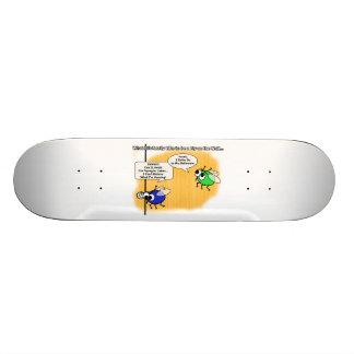 A Fly on the Wall Funny Cartoon Custom Skateboard