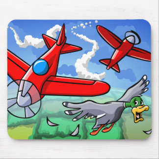 A Flying Adventure Mouse Mat