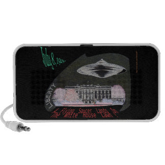 A Flying Saucer Lands On The White House Lawn! iPhone Speaker