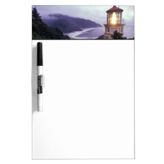 A foggy day on the Oregon coast at the Heceta Dry Erase Boards