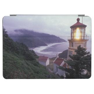 A foggy day on the Oregon coast at the Heceta iPad Air Cover
