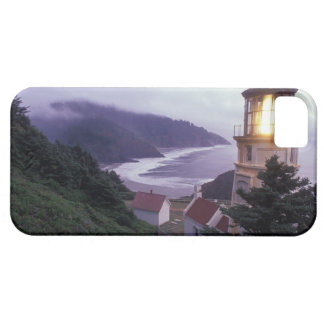 A foggy day on the Oregon coast at the Heceta iPhone 5 Covers
