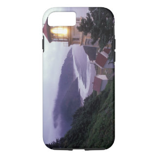 A foggy day on the Oregon coast at the Heceta iPhone 8/7 Case