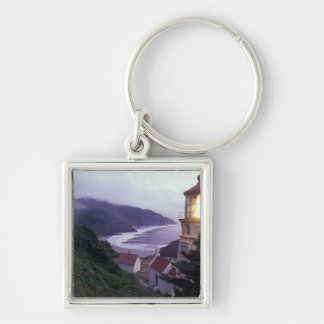 A foggy day on the Oregon coast at the Heceta Key Ring
