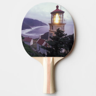 A foggy day on the Oregon coast at the Heceta Ping Pong Paddle