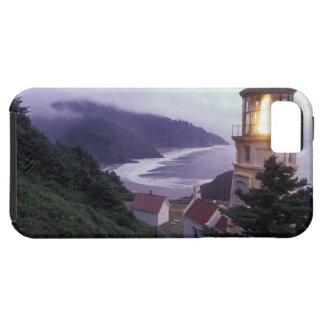 A foggy day on the Oregon coast at the Heceta Tough iPhone 5 Case