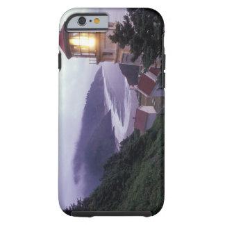 A foggy day on the Oregon coast at the Heceta Tough iPhone 6 Case