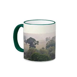 A Foggy English Field Ringer Mug