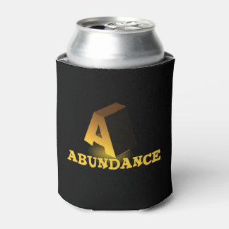 A FOR ABUNDANCE CAN COOLER