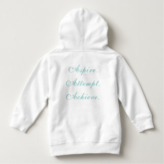 A for Achiever Toddler Hoodie