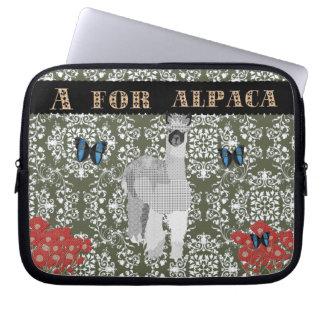 A For Alpaca Computer Sleeve