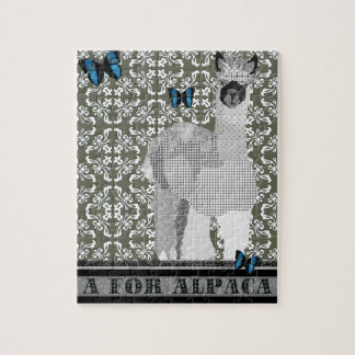 A For Alpaca Puzzle