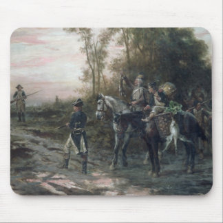 A Foraging Party Returning to Camp (oil on canvas) Mouse Pad